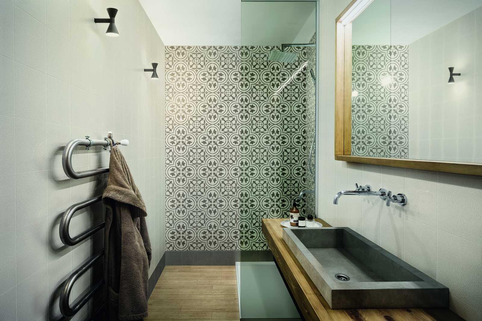 Bathroom flooring in porcelain stoneware ragno - Mattonelle bagno ragno ...