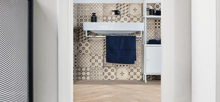Woodreal Ragno: tiles
