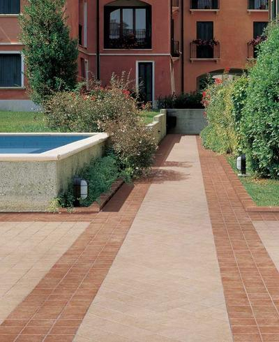 Emilia - porcelain stoneware for outdoor floor covering