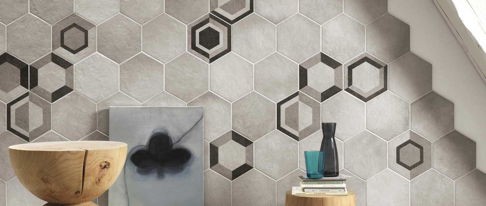 Hexagon tiles: the new way of decorating your home