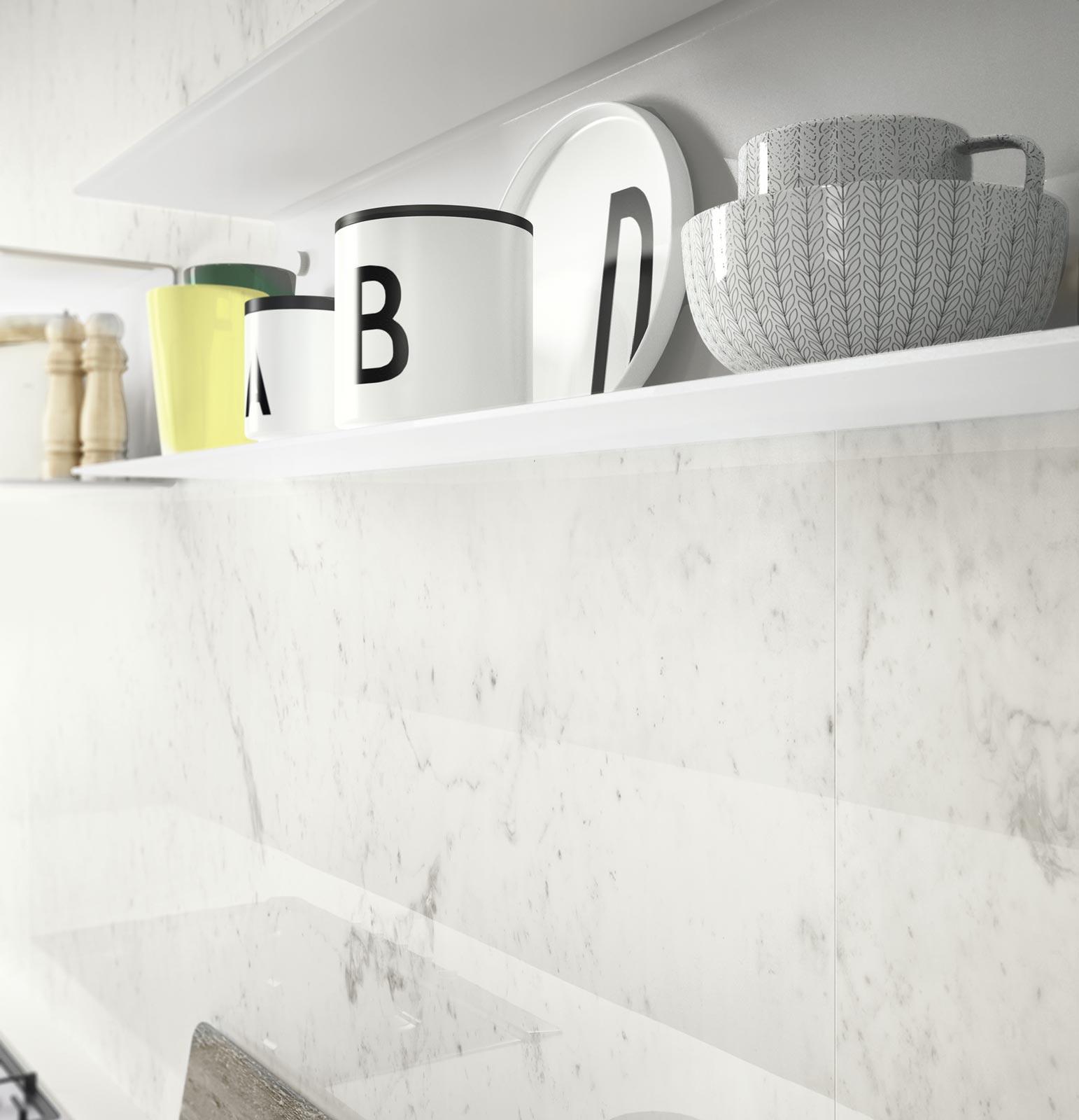 Total White Look: White Modern Kitchen | Ragno