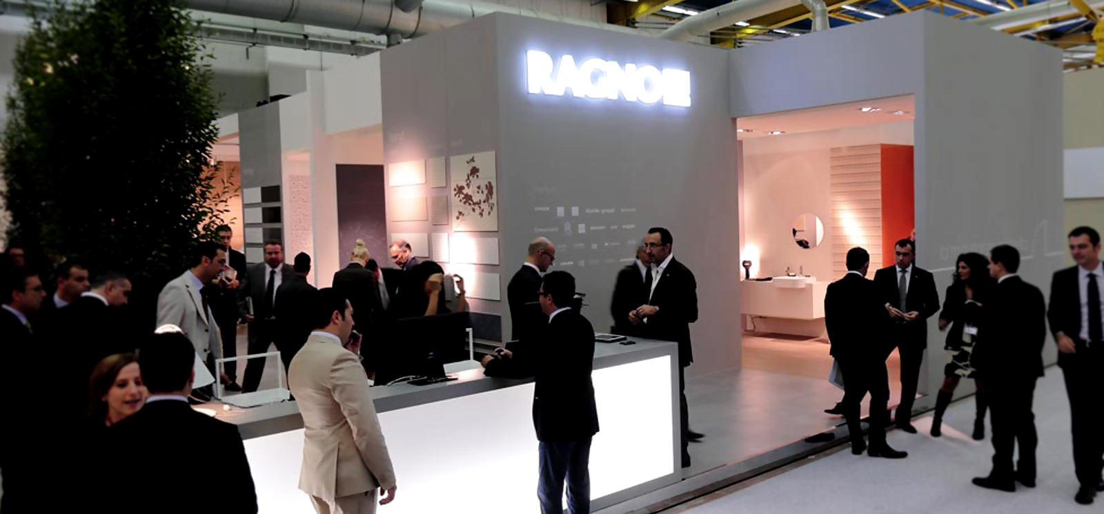 Cersaie 2012 - Ragno stands: lots of new products and masses of visitors!