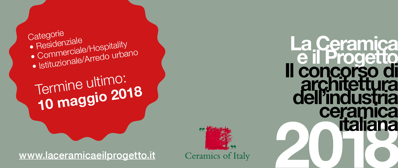 """La Ceramica e il Progetto"" 2018: the competition's seventh edition gets under way"