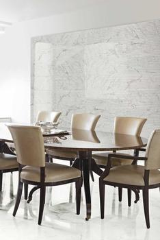 Stoneware becomes glossy and refined: the marble-effect of the Bistrot, Maiora and Imperiale collections