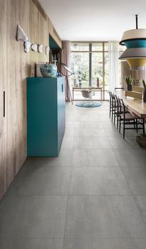Metal's distinctive iridescence is perfectly expressed in the Ironstone collection