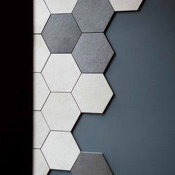 Hexagonal tiles for Cucina Centro in Limerick