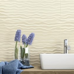 Modern Bathroom Coverings: Frame
