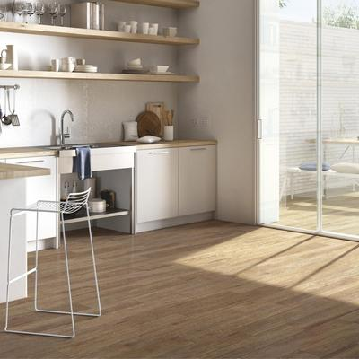Harmony  - glazed porcelain stoneware with wood effect