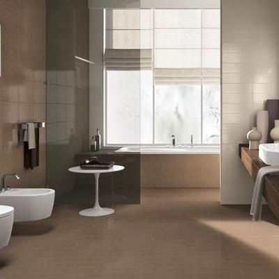 Line - semi-glossy bathroom wall tiles