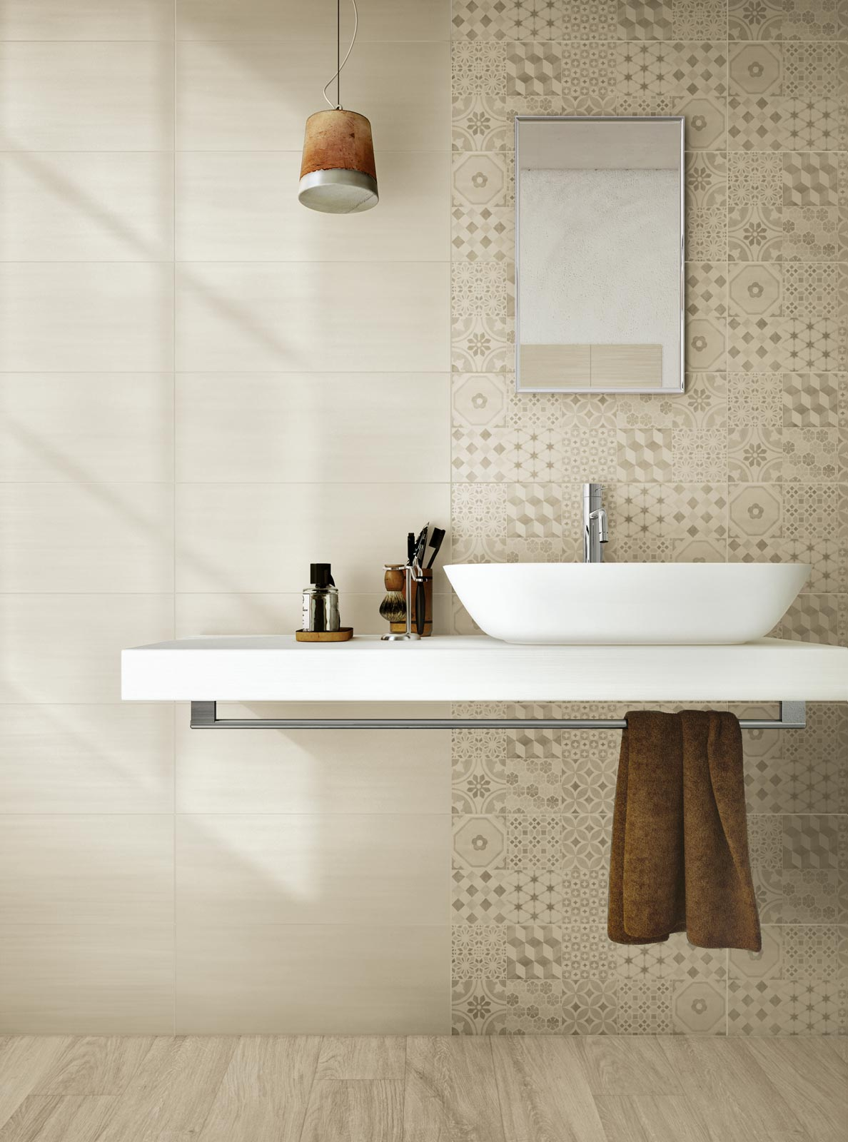 Land Collection: Waxy Stoneware for house flooring | Ragno