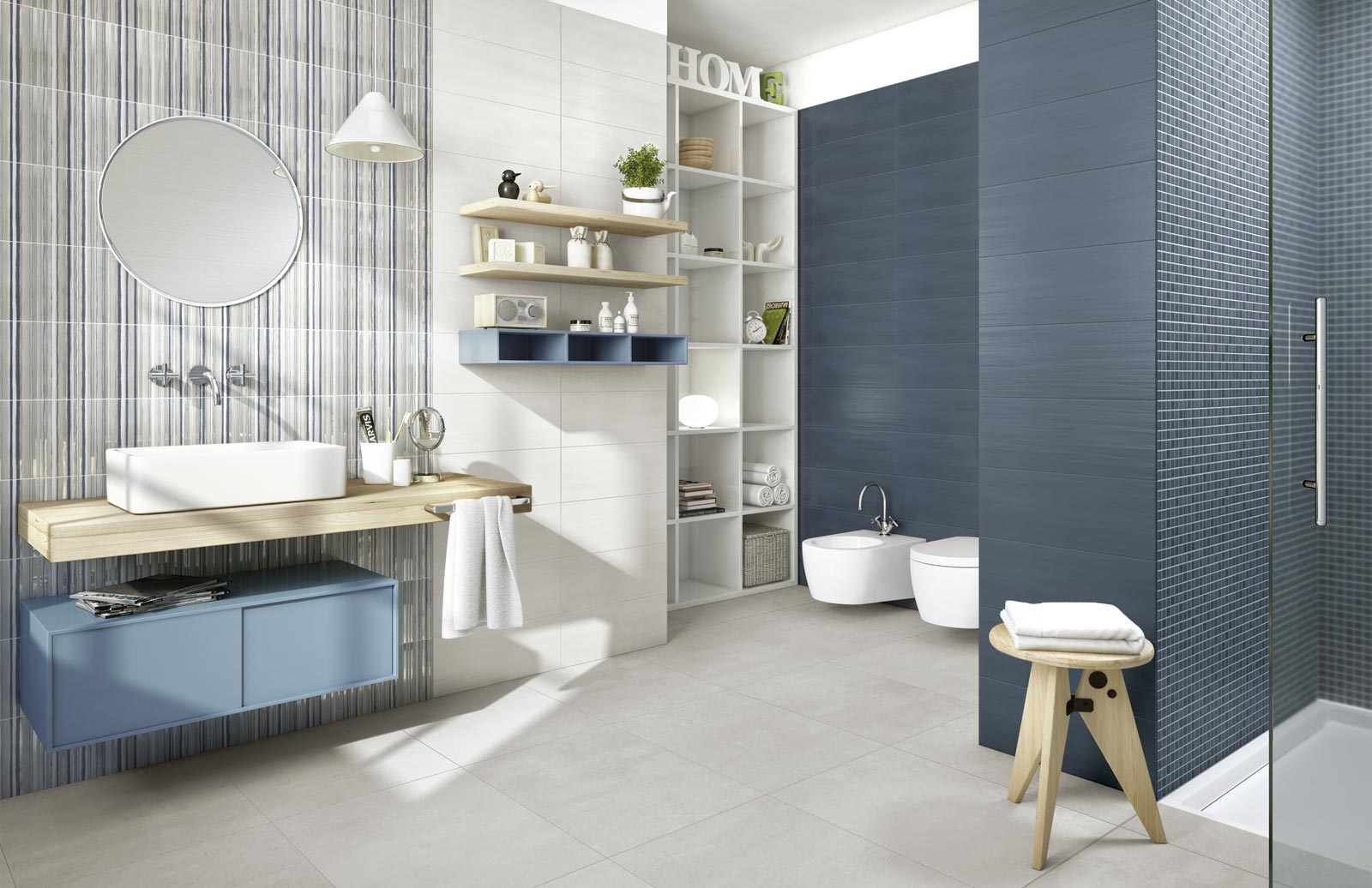 Land Collection: Waxy Stoneware for house flooring   Ragno