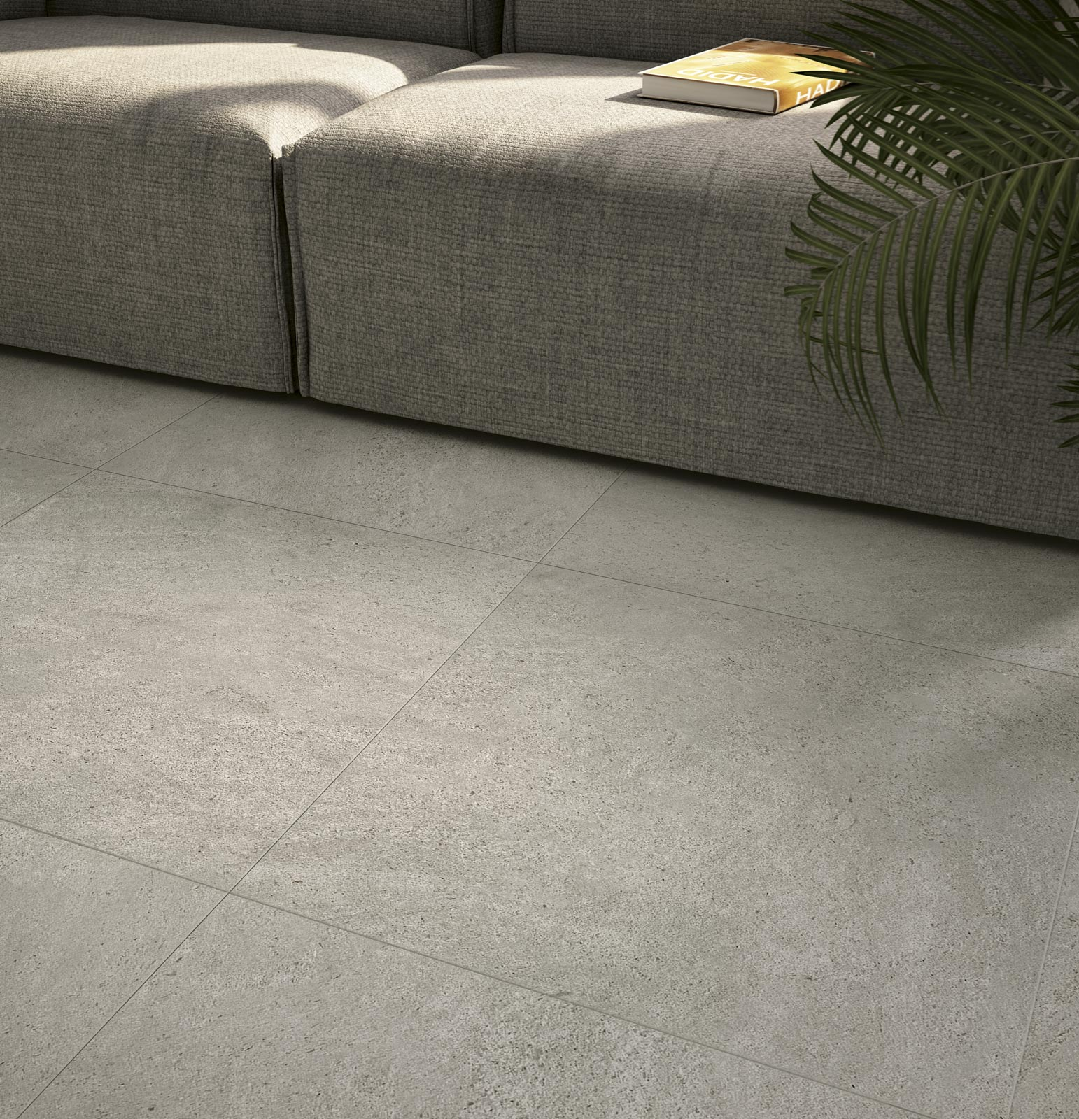 Season collection glazed stoneware for interiors and for Carrelage 60x60 taupe