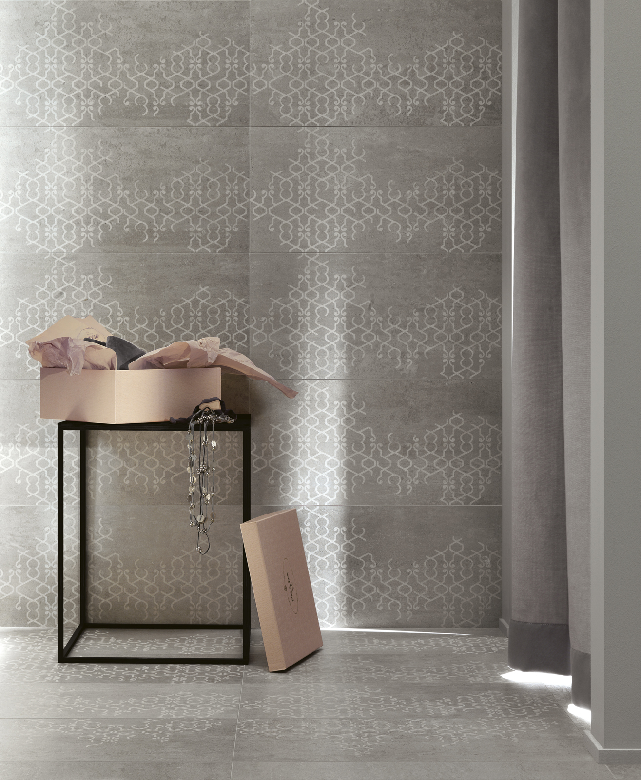 Concept Collection Concrete Porcelain Stoneware Ragno
