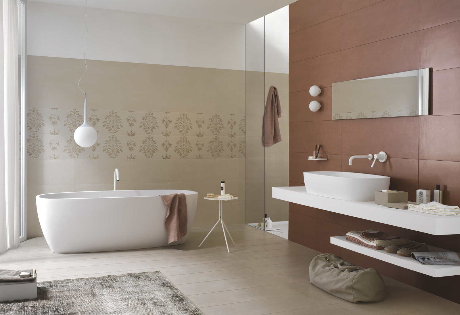 Concept Collection: Concrete porcelain stoneware  Ragno