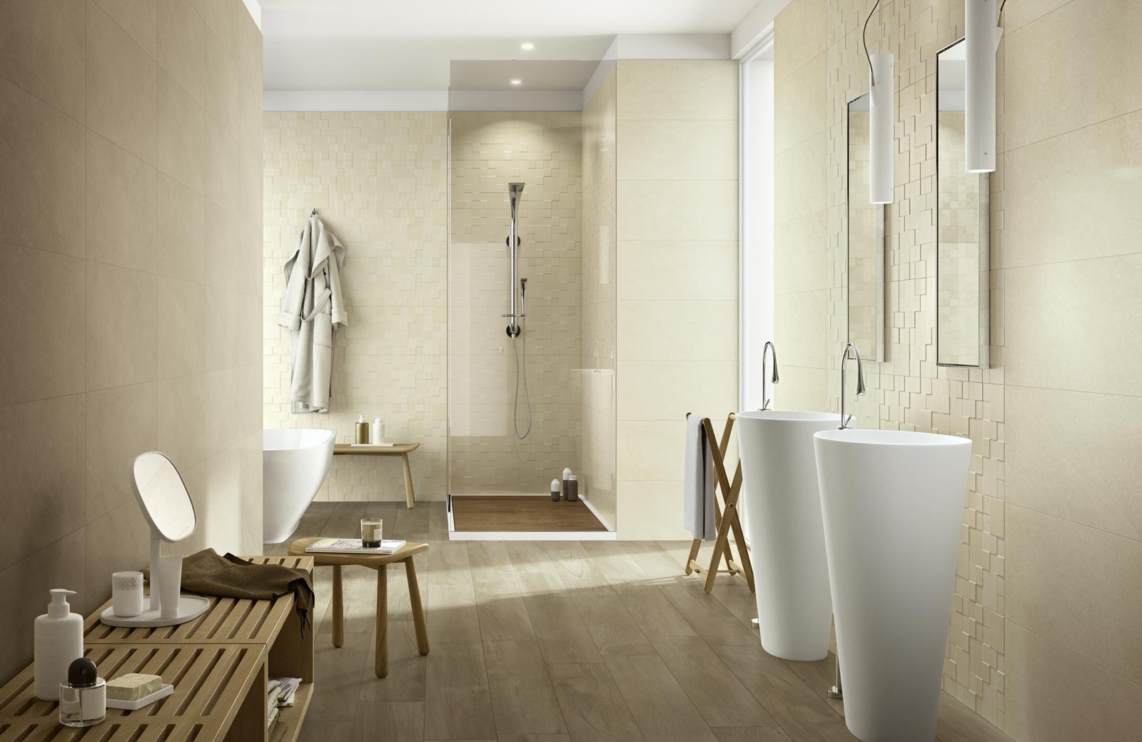 Natural Form Collection: Bathroom tiles | Ragno