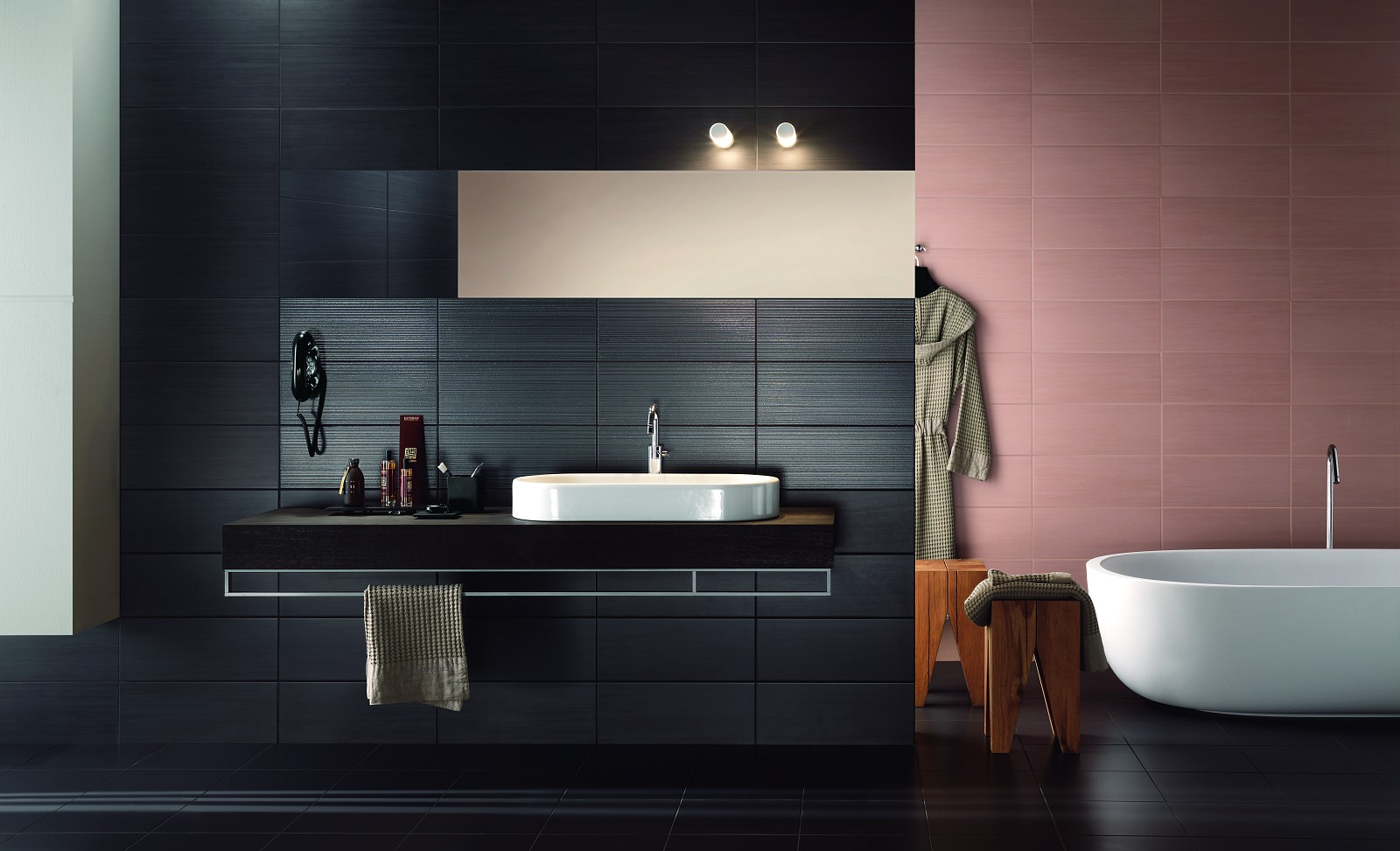 Time - ceramic tiles for bathroom wall covering  Ragno